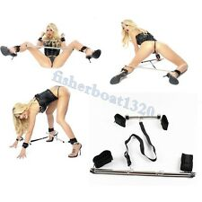 New Bondage Kit Fetish BDSM Hand Ankle cuffs Restraint Spreader two Bars Sex Toy