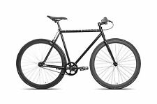 50cm FIXIE Fixed Gear Urban Road BIKE Flip-Flop Hub BICYCLES Single speed black