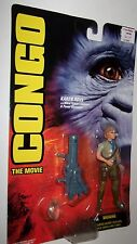 Congo movie Karen Ross Figure w/Laser Cannon  Kenner 1995 MOC SHARP CARD SEALED