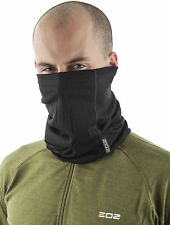 EDZ 200g Merino Multi tube Neck Warmer Black