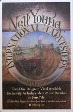 NEIL YOUNG, INTERNATIONAL HARVEST POSTER  (B17)