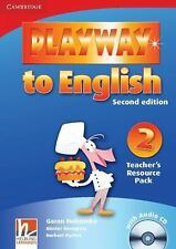 Playway to English Level 2 Teacher's Resource Pack with Audio CD, , Very Good co
