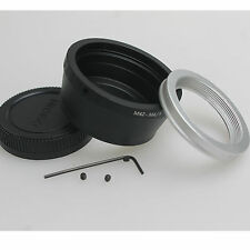 M42 Lens to Micro 4/3 M4/3 Adapter EP1 EP3 EPL1 EPL2 EPL3 G1 GF1 Adjustable +cap