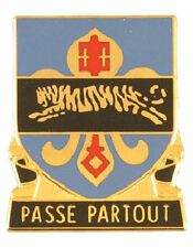 0415 Miltary Intelligence Bn Unit Crest (Passe Partout)