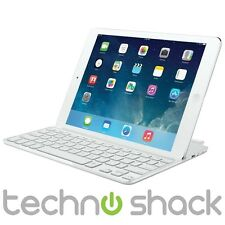 Logitech Tastiera Bluetooth ultrasottile Cover per iPad Air-Bianco-Nordic Layout
