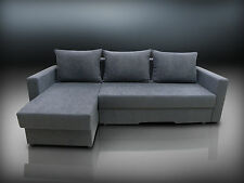 SPRING SALE CHEAPEST IN UK, 2STORAGES, SPRINGS INSIDE, SOFA BED BRISTOL DK GREY