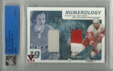 2015 ITG Ultimate Vault Numerology Larry Robinson / Yzerman Dual Jersey 1/1