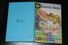 Ladybird Key Words Reading Scheme Peter & Jane 8A Sunny days 18p