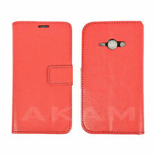 PU Leather Book Wallet Flip Book Case Cover Samsung Galaxy J1 Ace J110