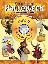 Old-Time Halloween Illustrations CD-ROM and Book (Dover Electronic Clip Art) by