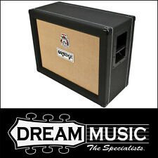 "Brand New Orange PPC212OB Open Back 2x12"" Black Finish Speaker Cabinet RRP$999"