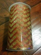 NEW * Wired Edge Ribbon 5 inches x 12 feet Great for Wreaths & Bows