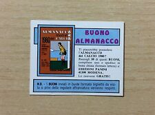 FIGURINE PANINI - CALCIATORI 1979-80 - FUORI RACCOLTA - BUONO ALMANACCO - NUOVO