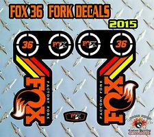 Fox 36 2015 FORK Stickers Decals Graphics Mountain Bike Down Hill MTB