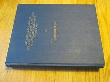 Recueil de documents sur l'Histoire militaire canadienne Doctorat 1935-39 WW2