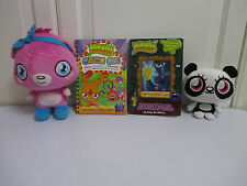 Talking Poppet Moshi Monsters TY ShiShi Soft Toys Dr Strangeglove Book Game On