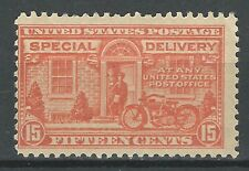 Scott # E13 15 Cent Special Delivery Stamp - MNH - F-VF Cond.- Cat. $80