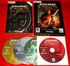 STAR WARS KNIGHTS OF THE OLD REPUBLIC KOTOR 1 Pc Versione Italiana ○○ COMPLETO