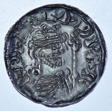EDWARD THE CONFESSOR PENNY (1059-62) BRITISH SILVER HAMMERED COIN GVF