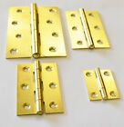 "Electro Brass Butt Hinges 11/2"", 21/2"", 3"" & 4"" Trade-Fixings Direct"