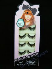 False eyelashes Japanese dolly wink style No.1 Glamorous 5 pairs Z34