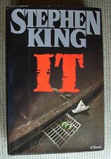 IT by Stephen King (1986, Hardcover) -1st Edition -RARE- VERY NICE