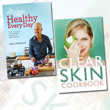 Dale Pinnock 2 Book Collection Set Pack(The Medicinal Chef, The Clear Skin Cook)