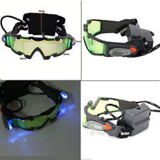 ADJUSTABLE ELASTIC MILITARY NIGHT VISION GOGGLES GLASSES SECURITY EYESHIELD FT7