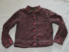 Oilily Girls Jacket Size 152 12 Lightweight Coat Button Front Lined Collar Cute