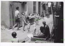 OLD HONGKONG PHOTOGRAPH STREET CHILDREN AT PLAY HONG KONG VINTAGE C.1960