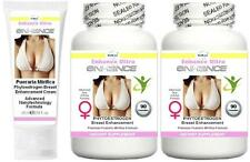 BUST Breast Enlargement Enhancement Cream Capsules Firmer Cup Lift Firming