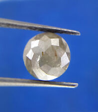 0.73TCW 5.5 MM Gray color Round Rose Cut African Antique Loose Natural Diamond