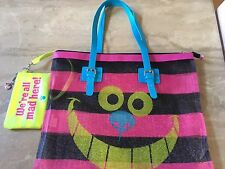 DISNEY Cheshire The Cat Mesh Tote Bag And Purse