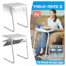NEW TABLE VALET Foldable Adjustable Portable Side Bed TV bed Mate Laptop TABLE