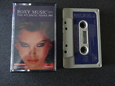 ROXY MUSIC THE ATLANTIC YEARS CASSETTTE TAPE LIKE NEW