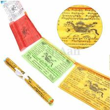 1 Set Roll 20pcs 27x15cm Tibetan Buddhist Prayer Flags Religious Hanging 5 Color