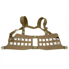 Blue Force Gear SPLITminus Military Army MOLLE Chest Rig Harness Coyote Brown