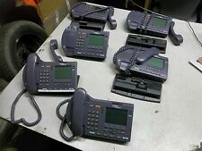 Nortel NTEX00 i2004 Business Office Internet Telephones, Lot of 6 *FREE SHIP*