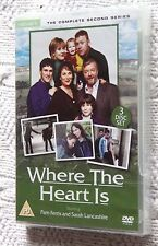 WHERE THE HEART IS- THE COMPLETE SECOND SERIES (DVD) R-2, NEW, FREE SHIPPING