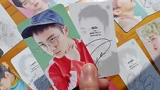 EXO PHOTO CARD #62-1 - EX`ACT - The 3rd Album TEASER  Lucky One ver - all of 18