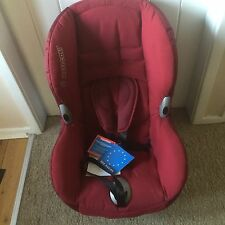 Maxi-Cosi Priori XP Group 1 Car seat - Shadow Red, RRP £140