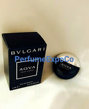 BVLGARI AQVA POUR HOMME 5ml - 0.17oz EDT MINI Splash Non-Spray NEW IN BOX (C33