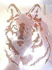 Wolf, Dog Stencil for Airbrush, Crafting, Art Work, ect.