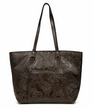 Patricia Nash Burnished Tooled Lace Collection Benvenuto Studded Tote Purse NWT