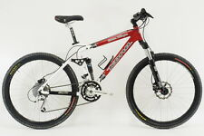 "Kona Queen Kikapu 17"" Rockshox Fox Shimano 26"" Full Suspension MTB Mountain Bike"