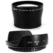 72mm Lens Hood Flower Petal,Telephoto Lens for PANASONIC DVX100B,DVX100 NEW USA