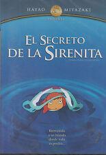 DVD - El Secreto De La Sirenita NEW Hayao Miyazaki FAST SHIPPING !