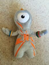 Wenlock Plush Soft Toy 2012 Olympic Games Mascot 21cm Tall