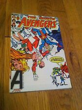 1984 AVENGERS #248 Comic Book THE ETERNALS Scarlet Witch VISION Captain Marvel