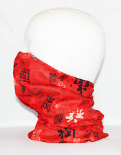 Multi use Biker Chinese Cycling Neck Tube Scarf Snood Face Mask Warm Bandana